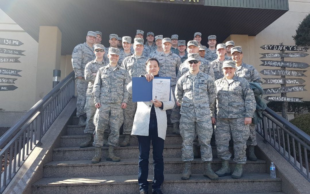 SupplyCore Associate Honored by Air Force