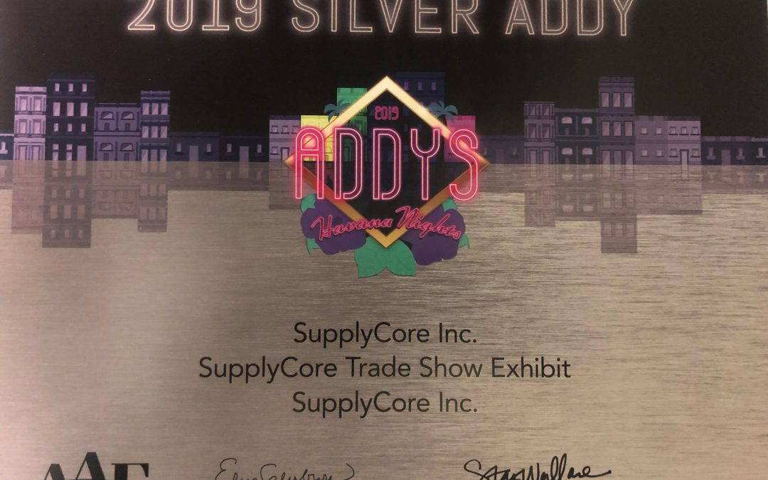 SupplyCore Wins Two American Advertising Awards